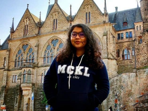 Vanessa, alumni of MCKL A Level, studying in Philipps University of Marburg, Germany